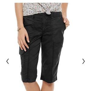 Sonoma Skimmer Mid-rise Utility shorts ,black